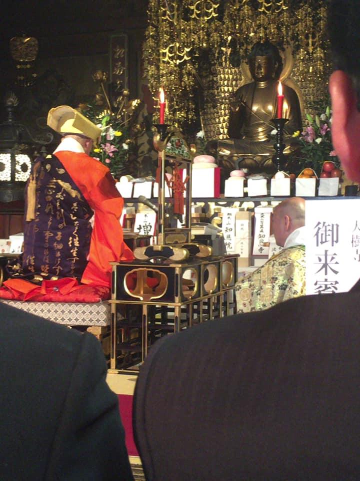 。実に第64世中村御上人が貫主として上がられました。 光栄な事に参列させていただきました。何十年に一度の儀式です。 家康公とのご縁で宗派の中でも特別なお寺であります。 あらためて、大樹寺が岡崎に存在する事に、誇りを感じた次第です。 #いそべ亮次 #岡﨑市議会議員