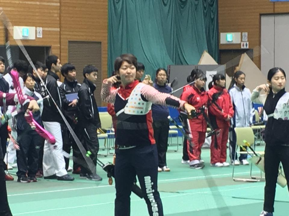 ーチェリー大会です。デモで韓国のトッププレーヤーと日本のトッププレーヤーの競演がありました。男女のメダリストたち。やはりすごいですね。美しくしなやかです。 #いそべ亮次 #岡﨑市議会議員