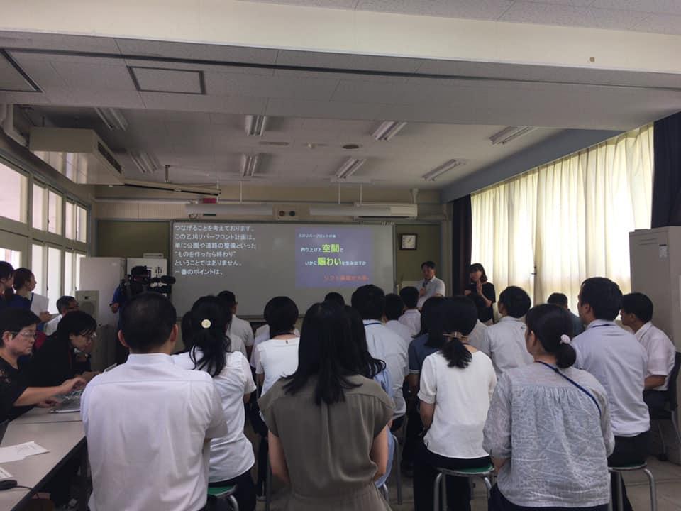 暑い夏休みの時期にもかかわらず、多くの生徒さんに参加頂きました。<br /> 皆さん、よく話を聞いて、ほぼ全員が市長さんに質問をしてくださる光景は頼もしい限りです。良い会だったと思います。 #いそべ亮次 #磯部亮次 #岡崎の未来を考える会 #岡﨑市議会議員